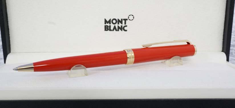 モンブラン PIX レッド ボールペン